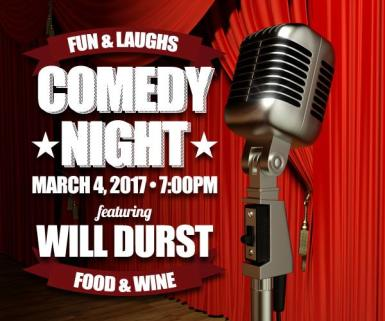 14TH ANNUAL MAYO FAMILY WINERY COMEDY NIGHT