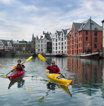 Kayaking Ålesund