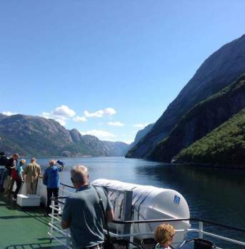 Fjordcruise Lysefjord