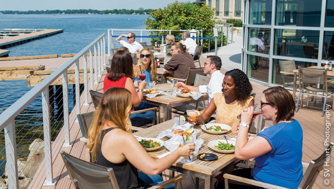 Outdoor Dining at The Edgewater