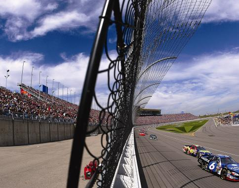 Kansas City Speedway - Frontstretch