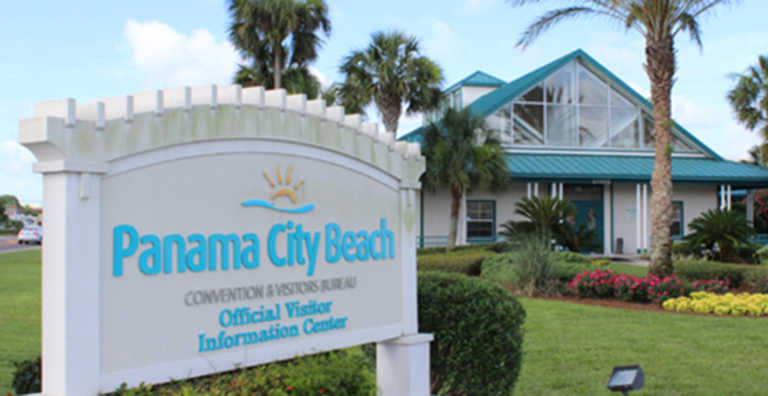 Visitor Information Center – Panama City Beach Tourist Map