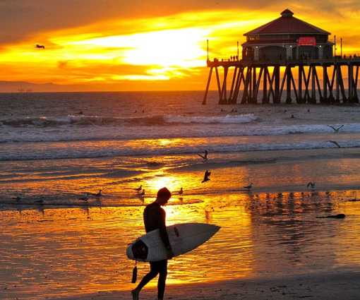 6 Best Spots to Watch a Surf City Sunset