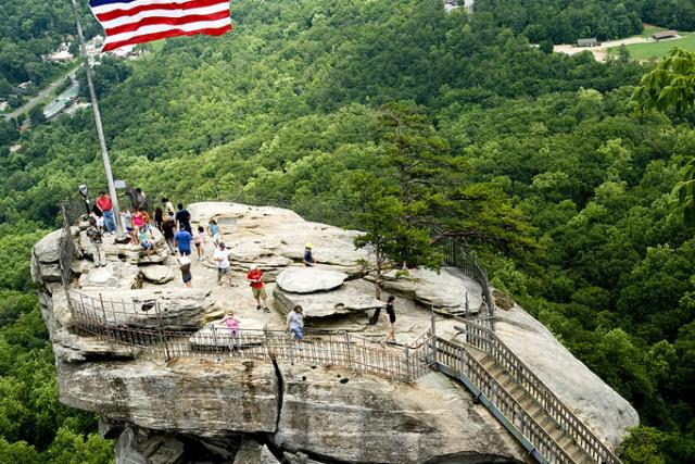 Chimney Rock View from the Top