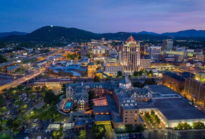 Car Rental Roanoke Va: Roanoke In Virginia's Blue Ridge Featured In United