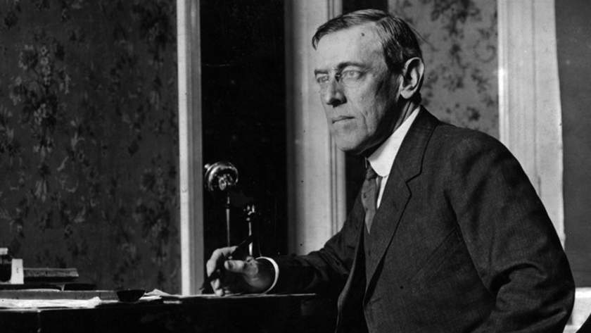 Woodrow Wilson Cropped