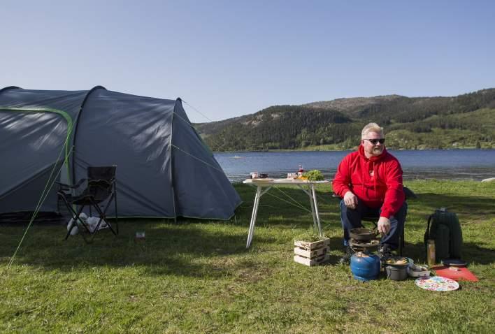 Camp-Inge på Neset Camping