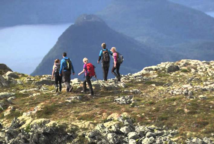 Turen langs Romsdalseggen