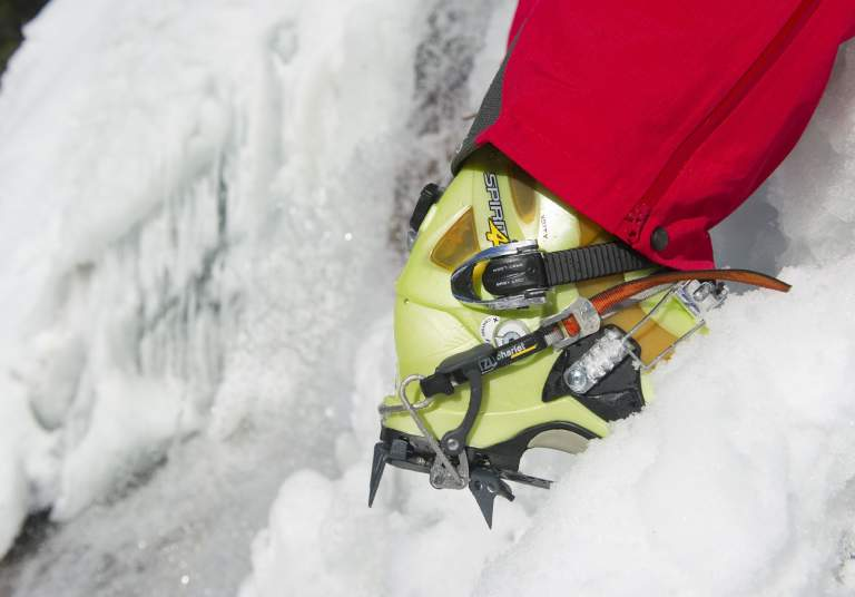 Ice climbing in Setesdal