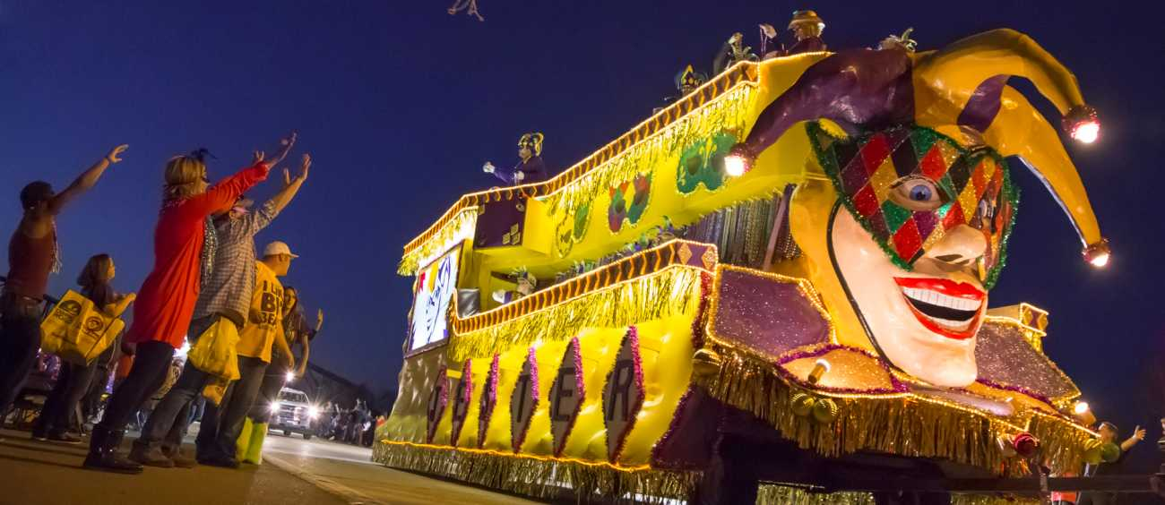 A photo of the Krewe of Centaur parade