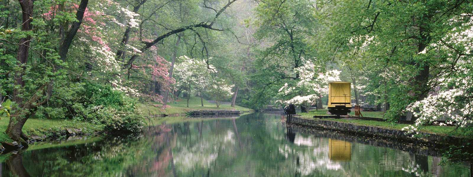 Spring at Hagley Museum & Library
