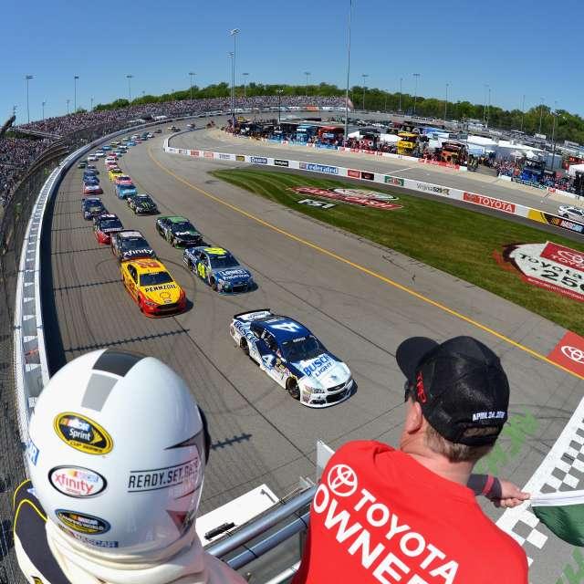 NASCAR RIR square