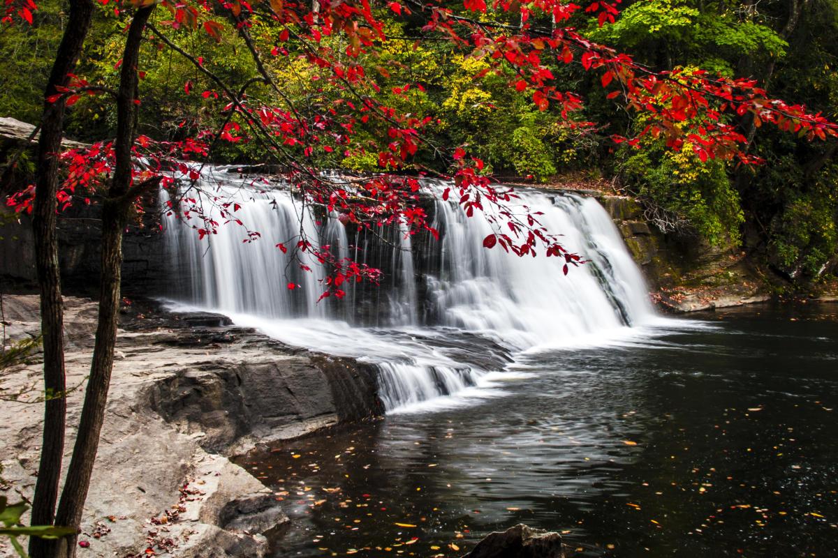 Hooker Falls Triple Falls And High Falls Hike