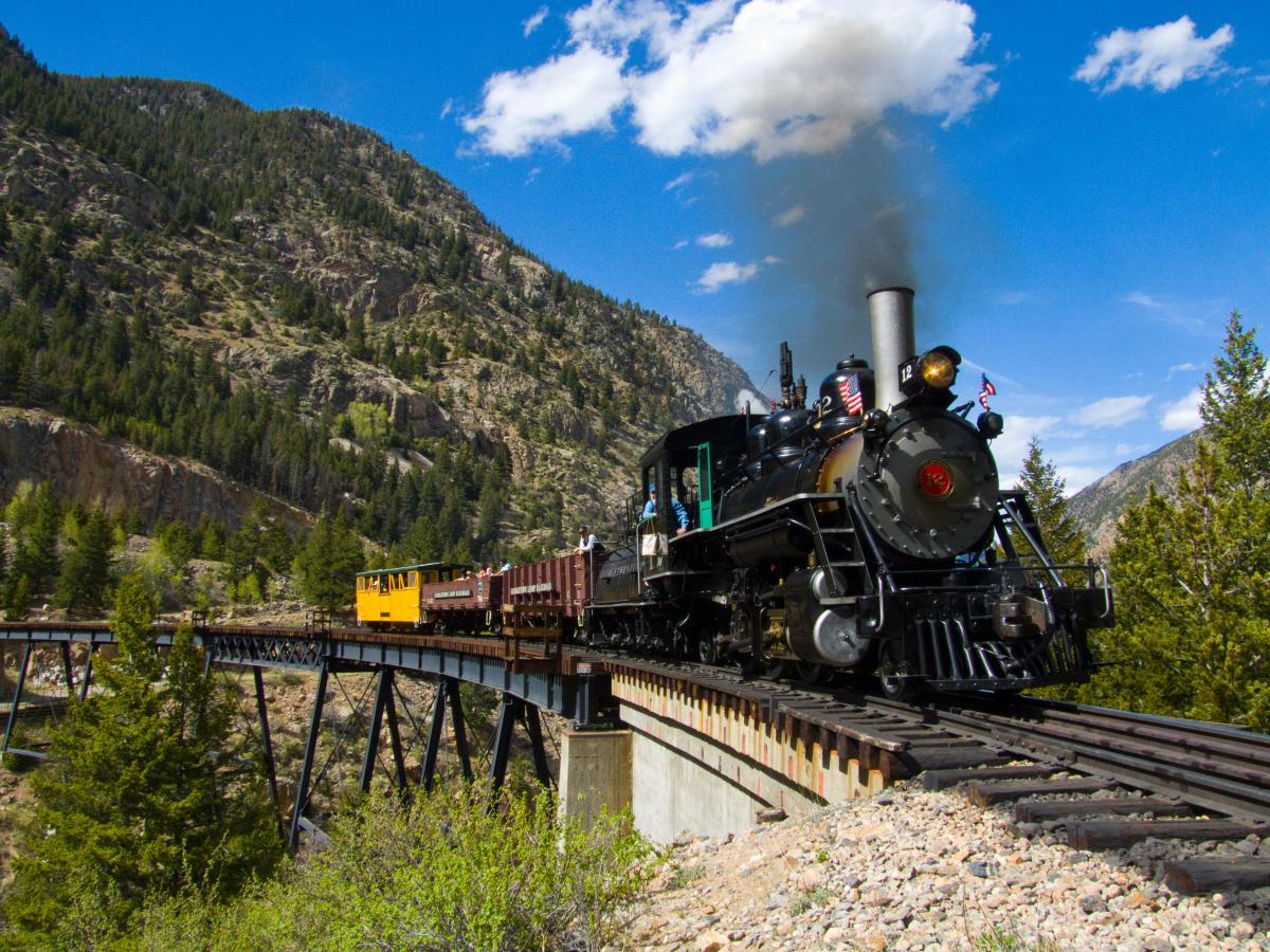 Denver Railroads Visit Denver