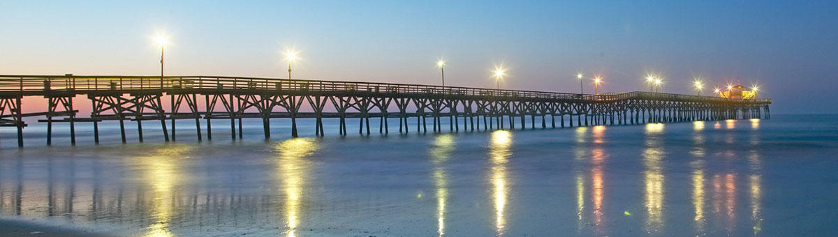 Myrtle Beach Sc Things To Do Cherry Grove Pier