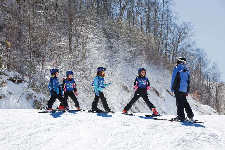 Ski Lesson at Cataloochee Ski Area