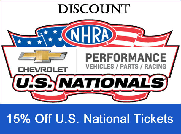 US Nationals Discount