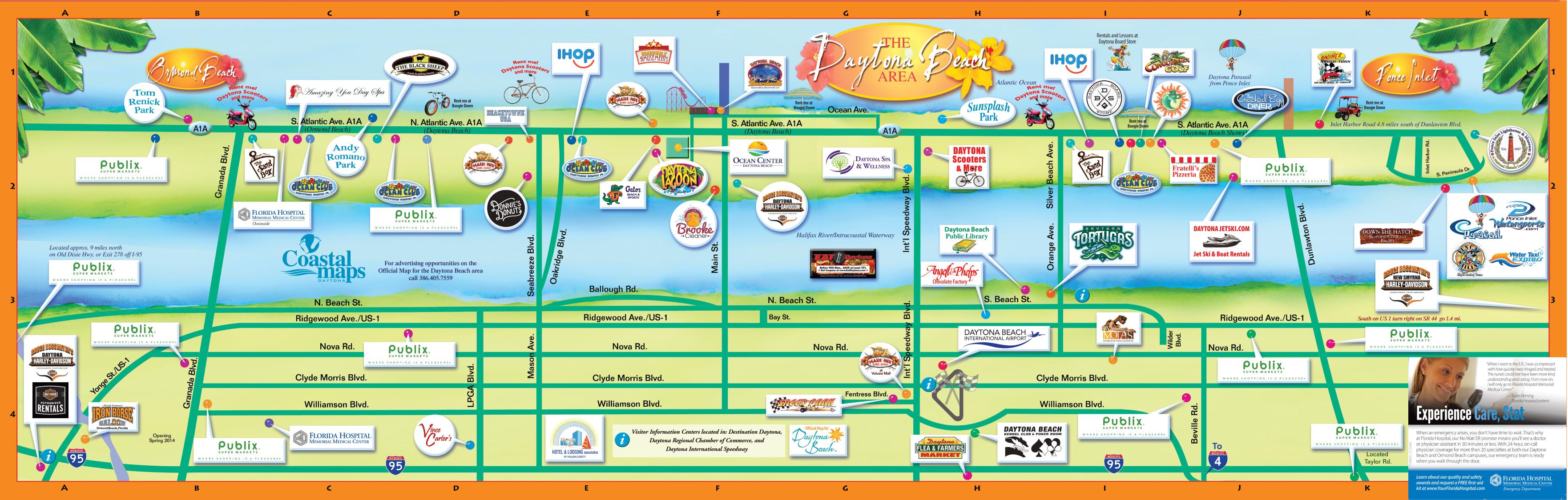 Daytona Beach Public Parking Map Pdf