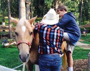 Boy Horse Cowboy 300