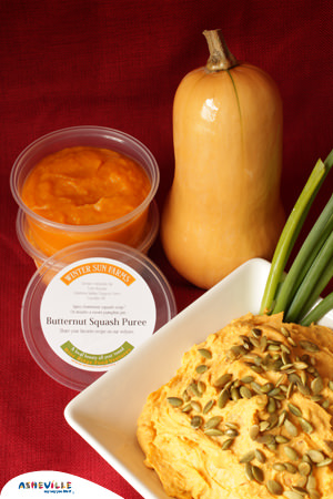 Winter Squash Dip from Winter Sun Farms #Recipe | ExploreAsheville.com
