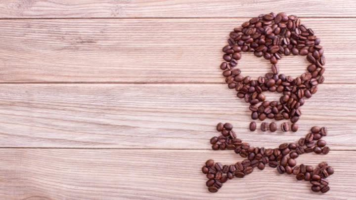 Coffee can kill.