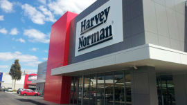 Subversive Sam was left with a sour taste in his mouth after shopping at Harvey Norman.