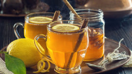 Feeling under par? Rachel's comforting hot toddy will sort you out.