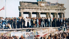 People power won out to ensure the collapse of the Berlin Wall.