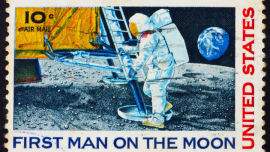 Where were you when Neil Armstrong first walked on the moon? Picture: Shutterstock.