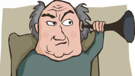 Bah humbug! Why are Baby Boomers so grumpy? Picture: Shutterstock.