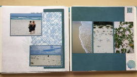 Scrapbooking can be simple, quick, but still beautiful!.