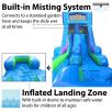 15ft Trolls Retro Water Slide