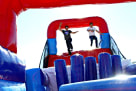 140ft Obstacle Course Ninja Warrior