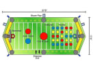 All in One Sports Bounce House Schematics