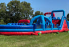 140ft Rugged Warrior U-turn obstacle course Dallas
