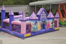 Side view of Princess Toddler Moonwalk
