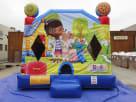 Front View Doc Mcstuffins Bouncy Castle