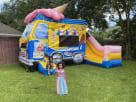 Fun Family Ice Cream Truck Bounce House Combo