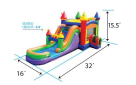 Bounce House combo dimensions