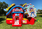 Midway Carnival Bounce House