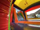 Rainbow Modern Bounce House Combo