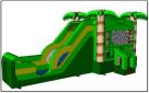 Big Palm Tree Combo Wet Dry Slide Rentals
