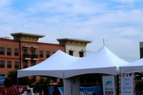 10'x20' High Peak Tent Rental