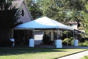 20'x20' Frame Tent Rental