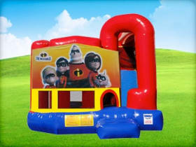 Incredibles 4in1 Bounce House