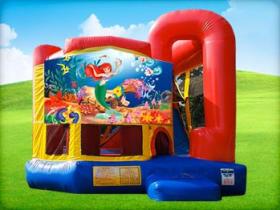 Little Mermaid 4in1 Bounce House