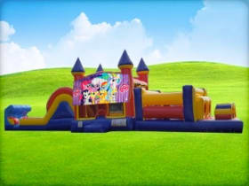 50ft My Little Pony Obstacle w/ Wet or Dry Slide
