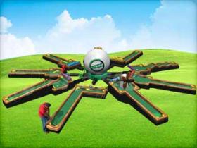 9 hold golf putt putt for rental