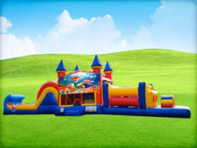 Arial Little Mermaid Obstacle Course Rentals