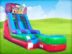 15ft My Little Pony Retro Water Slide Slide